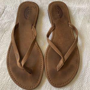 RAINBOW 7 brown sandals